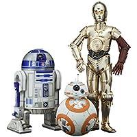 コトブキヤ ARTFX+ STAR WARS R2-D2 & C-3PO with BB-8 1/10スケール PVC製 塗装済み簡易組立フィギュア