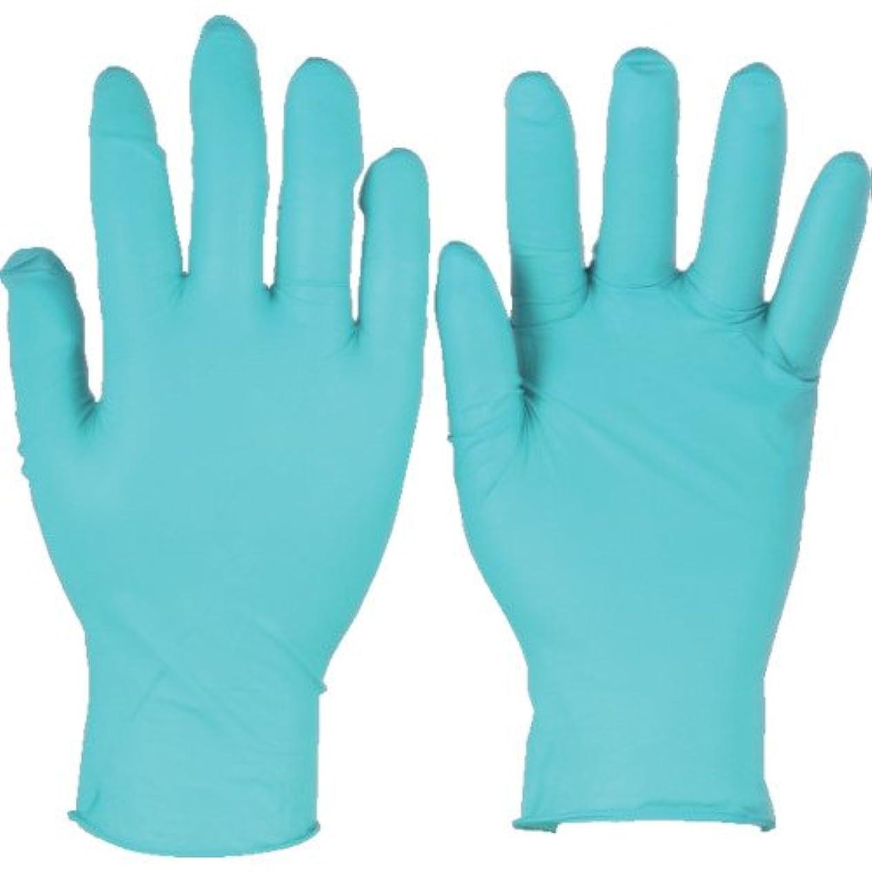 シェフ記憶に残る工場トラスコ中山 アンセル ニトリルゴム使い捨て手袋 タッチエヌタフ 粉付 Sサイズ 100枚入 925007