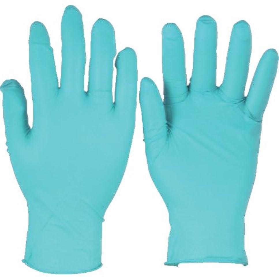 トラスコ中山 アンセル ニトリルゴム使い捨て手袋 タッチエヌタフ 粉付 Mサイズ 100枚入 925008