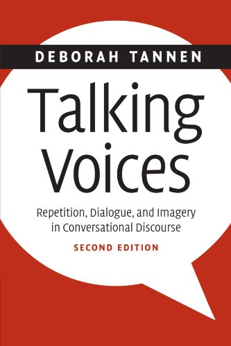 [画像:Talking Voices: Repetition, Dialogue, and Imagery in Conversational Discourse (Studies in Interactional Sociolinguistics)]