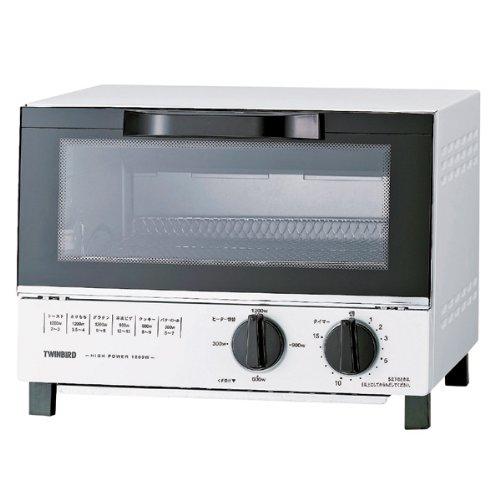 TWINBIRD オーブントースター ホワイト TS-4018W