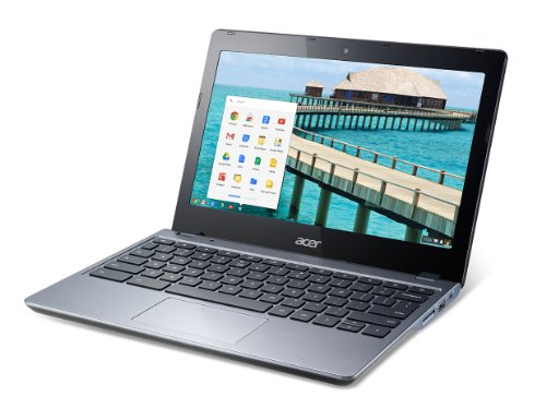 『Acer Chromebook NX.SHEAA.006 11.6-Inch Netbook (Gray)(US Version imported by uShopMall U.S.A.)』の3枚目の画像