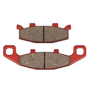 デイトナ(DAYTONA) ブレーキパッド 赤パッド フロント:アクロス/バンディット250/ZRX400 など 79840