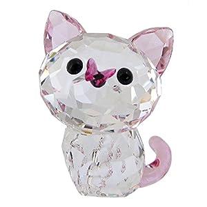 スワロフスキー SWAROVSKI クリスタル フィギュア アメリカンショートヘア ネコ 猫 Kitten Millie 5223597 【並行輸入品】 5223597