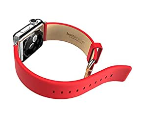 HOCO 正規品 apple watch用本革バンド Watchband for Apple Watch 42MM 611202 (レッド)