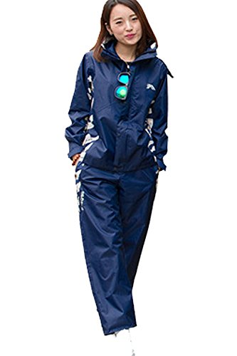 [해외]레인 코트 레인 레인 비옷 카파 상하 세트 2 종 세트 후드 바이저 포함 (TS126)/Raincoat rain suit rainwear raincoat kappa top and bottom set 2 points set with hooded visor (TS 126)