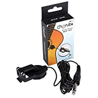 Cherub WCP-60Gウクレレギターピックアッププロフェッショナルクリップピックアップ260 cmケーブルパーフェクト楽器アクセサリー