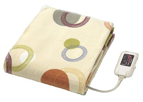 日本製 電気綿敷毛布...