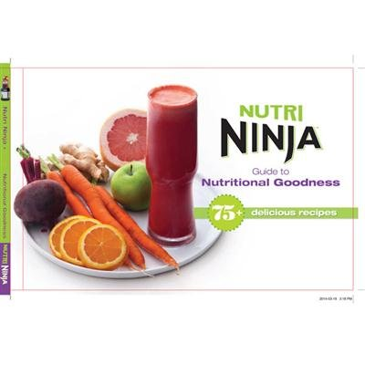 Nutri Ninja 75 +レシピGuide to Nutritional Goodness Cook Book | cb450