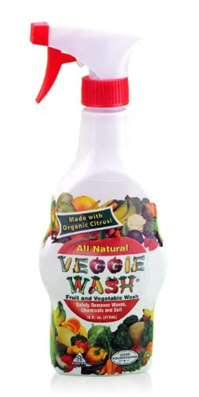 主要な乏しい多分ベジーウォッシュ(473ml)食物由来の成分でフルーツや野菜についた汚れを洗い流す洗浄スプレー
