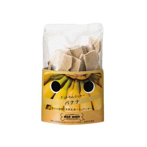 ドットわんフルーツクッキー バナナ 65g