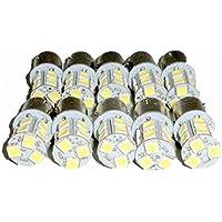 24V LED S25 シングル球 13連 10個セット ホワイト