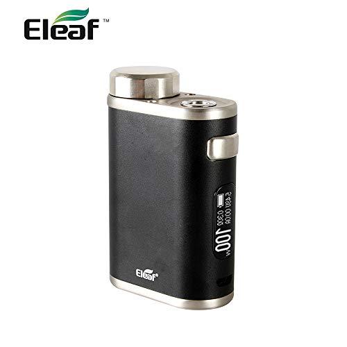電子タバコ MOD 本体 正規品 テクニカル Eleaf iStick Pico 21700 100W MOD (イーリーフ アイスティック ピコ モッド) 付 選べる6色【 温度管理機能 対応 VAPE 】 (Black ブラック)