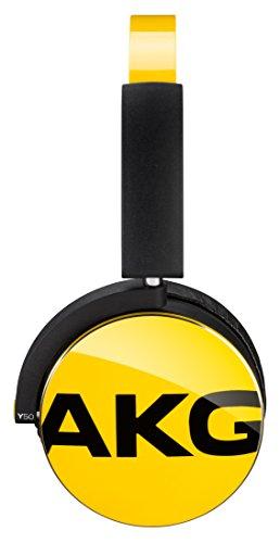 AKG Y50 密閉型オンイヤーヘッドホン DJスタイル イエロー Y50YEL 【国内正規品】