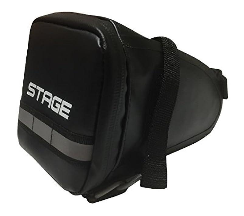 清める出発する顧問STAGE(ステージ) サドルバッグBK 1552