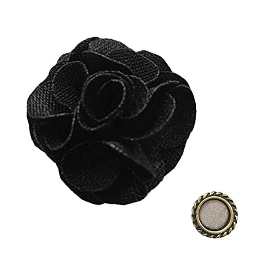 伝統水銀の類似性agehaコレクション ネイルコスチューム ブラックローズ