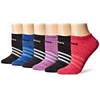 adidas Women's Superlite No Show Socks (6-Pair)
