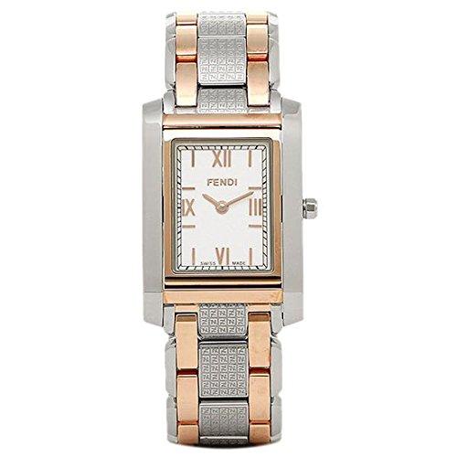 (フェンディ) FENDI 時計 レディース F767340 ZUCCA ウォッチ ホワイト[並行輸入品]