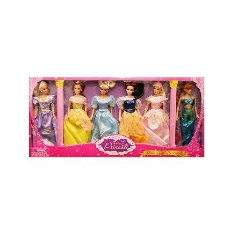 Princess Doll Collection Set Of 6 [並行輸入品]