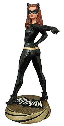 【プレミアコレクション】『バットマン 1966年TVシリーズ』キャットウーマン 高さ約30センチ レジン製 塗装済み完成品フィギュア
