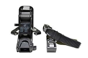 M88 フリッツヘルメット用 ナイトビジョンマウント ヘルメットアダプターセット NVG ブラック 黒