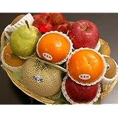 □【築地の某高級果物店の職人が作ります】 季節(11月)のフルーツバスケット(フルーツ7種入り)