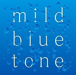 mild blue tone