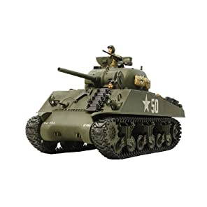タミヤ 1/35 戦車シリーズ No.56 アメリカ陸軍 M4A3 シャーマン シングルモーターライズ仕様 プラモデル 30056