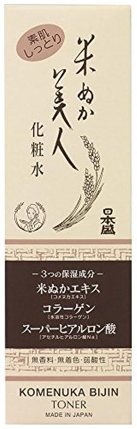 うがい理論的に話す米ぬか美人 化粧水 120ml