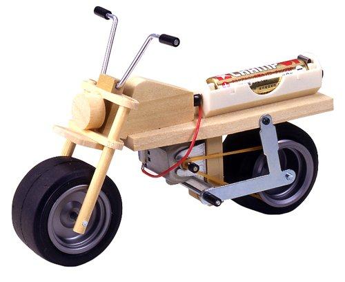 楽しい工作シリーズ No.95 ミニバイク工作セット (70095)