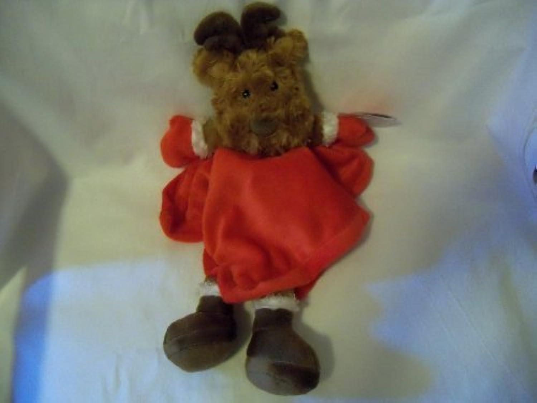 Baby Starters Plush Snuggle Buddy Security Blanket Reindeer by Rashti & Rashti [並行輸入品]