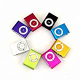 Mini Player Mp3 Player Clip Usb Supports 3.5Mm Usb 2.0 Mini Mp3 Player With Clip Support Micro Sd Tf Card Easy, Without Display