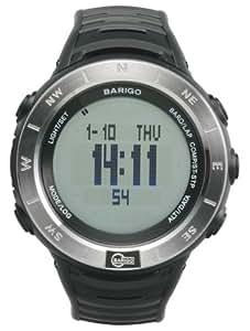 BARIGO(バリゴ) 気圧・高度・コンパスウオッチ E7 シルバー【日本正規品】 BAE7SB