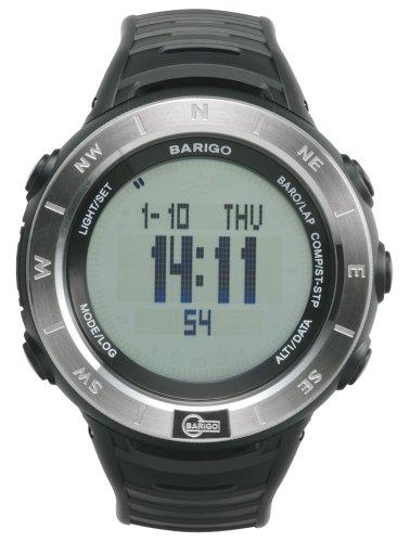 バリゴ 気圧・高度・コンパスウオッチ E7 シルバー