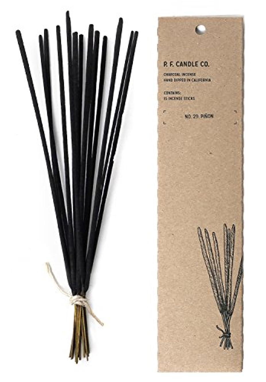 テンションおじさん増幅p.f. Candle Co。 – No。29 : Piñon Incense 2-Pack