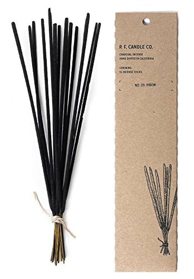 仕事通貨不十分p.f. Candle Co。 – No。29 : Piñon Incense 2-Pack