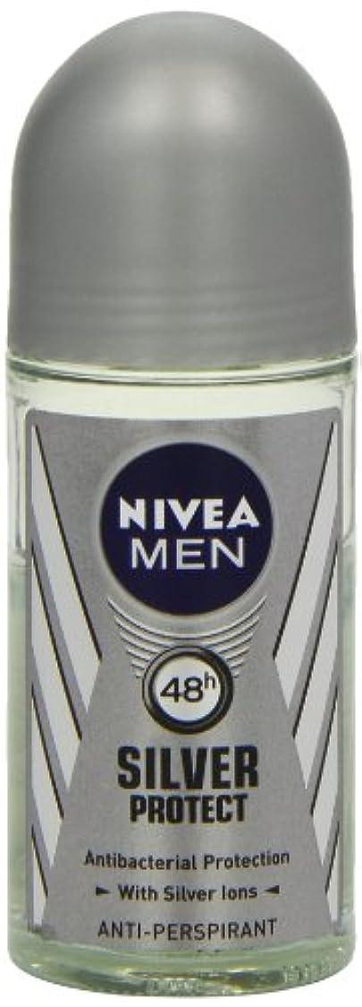 植物学野菜団結ニベア メンズ シルバープロテクト ロールオン デオドラント 48時間 アンチパースピラント 50ml (透明) 並行輸入品 Nivea for Men Silver Protect Anti-Perpirant Roll-on 50 ml