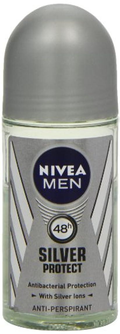 ディレクトリ甲虫してはいけませんニベア メンズ シルバープロテクト ロールオン デオドラント 48時間 アンチパースピラント 50ml (透明) 並行輸入品 Nivea for Men Silver Protect Anti-Perpirant Roll-on...