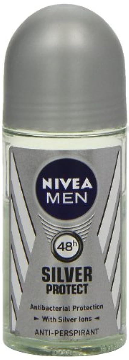次憂慮すべき着服ニベア メンズ シルバープロテクト ロールオン デオドラント 48時間 アンチパースピラント 50ml (透明) 並行輸入品 Nivea for Men Silver Protect Anti-Perpirant Roll-on 50 ml