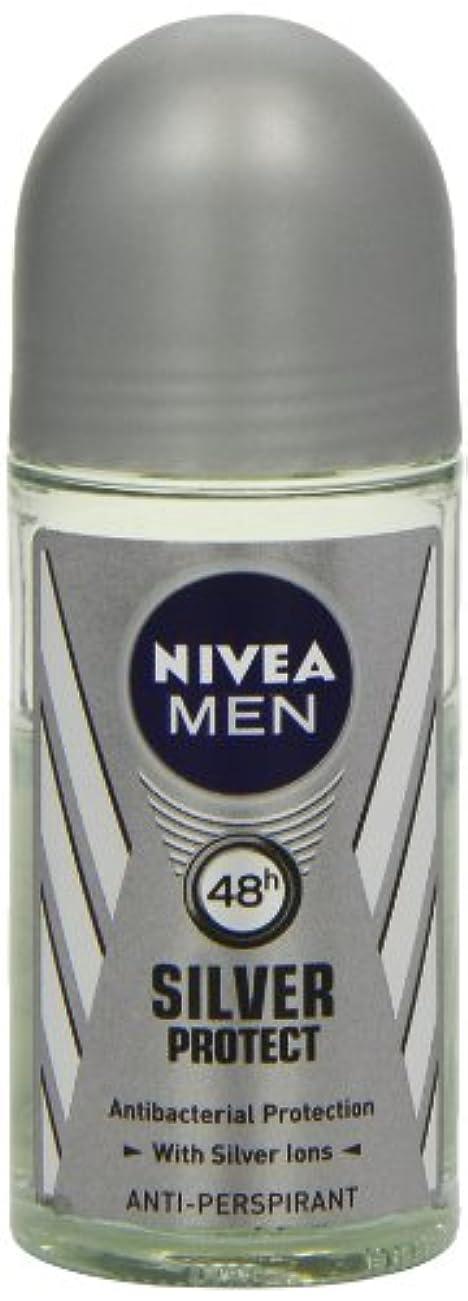 書誌ロッジストローニベア メンズ シルバープロテクト ロールオン デオドラント 48時間 アンチパースピラント 50ml (透明) 並行輸入品 Nivea for Men Silver Protect Anti-Perpirant Roll-on...