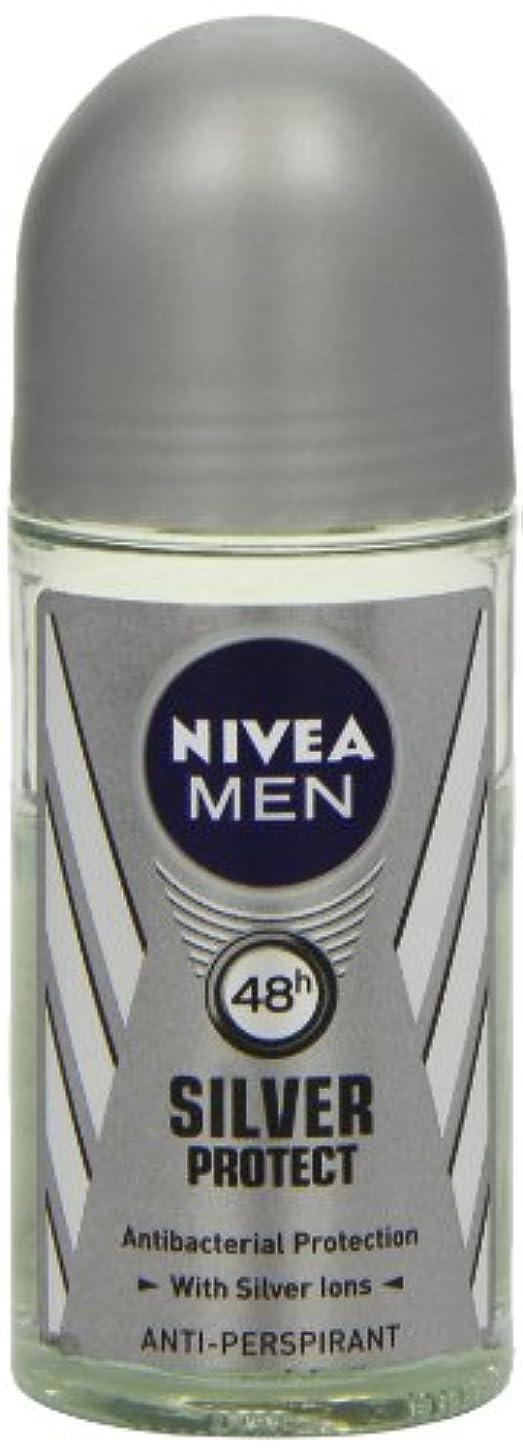 選択する軽量倍率ニベア メンズ シルバープロテクト ロールオン デオドラント 48時間 アンチパースピラント 50ml (透明) 並行輸入品 Nivea for Men Silver Protect Anti-Perpirant Roll-on...