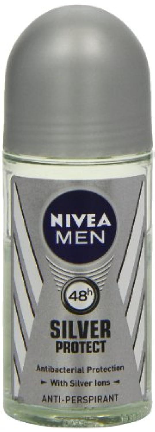 受け継ぐドライうつニベア メンズ シルバープロテクト ロールオン デオドラント 48時間 アンチパースピラント 50ml (透明) 並行輸入品 Nivea for Men Silver Protect Anti-Perpirant Roll-on 50 ml