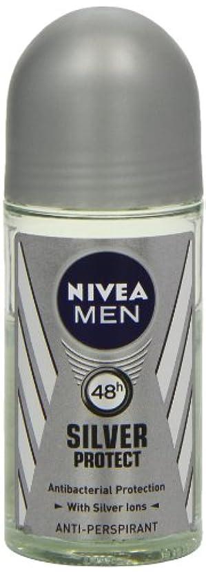 研磨剤パンダ不定ニベア メンズ シルバープロテクト ロールオン デオドラント 48時間 アンチパースピラント 50ml (透明) 並行輸入品 Nivea for Men Silver Protect Anti-Perpirant Roll-on...