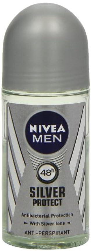 涙が出るラフ睡眠株式会社ニベア メンズ シルバープロテクト ロールオン デオドラント 48時間 アンチパースピラント 50ml (透明) 並行輸入品 Nivea for Men Silver Protect Anti-Perpirant Roll-on...