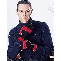 Hi9メンズ 冬 スポーツ ウォーム手袋 大人 アウトドア サイクリング スキー 滑り止め手袋