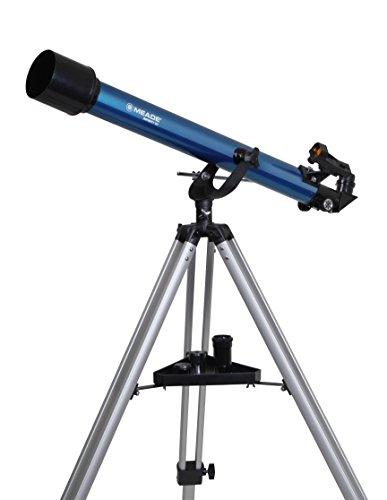 MEADE 天体望遠鏡 AZM-60 アクロマート 口径60mm 焦点距離800mm ブルー 998115