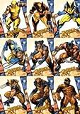 X-Men Origins Wolverine - 9 Card Wolverine Archives Chase Set
