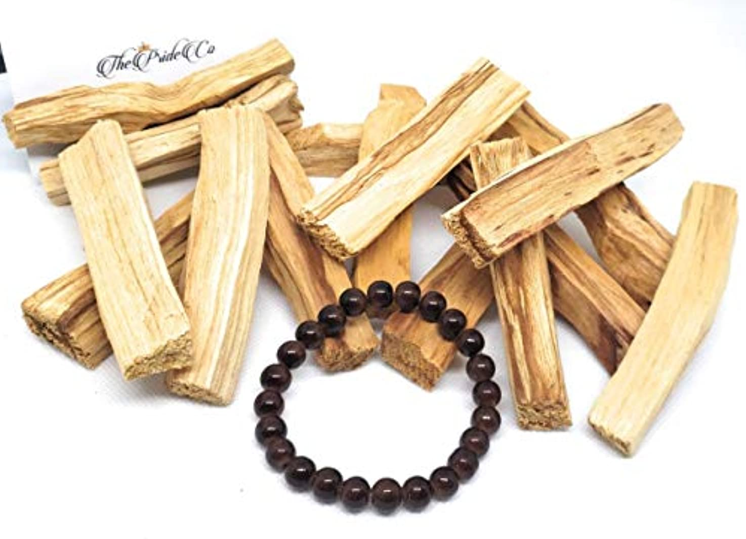 確認する外交官ひそかにThe Pride Palo Santo Smudging Sticks