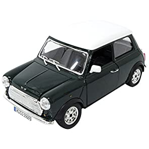 ミニカー ブラーゴ 1:24 ミニクーパー 1969 グリーン 200-594