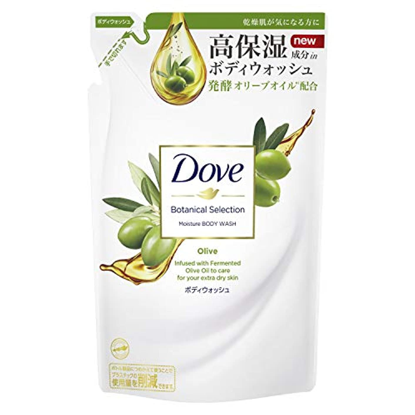 別れる事業株式Dove(ダヴ) ダヴ ボディウォッシュ ボタニカルセレクション オリーブ つめかえ用 360g ボディソープ